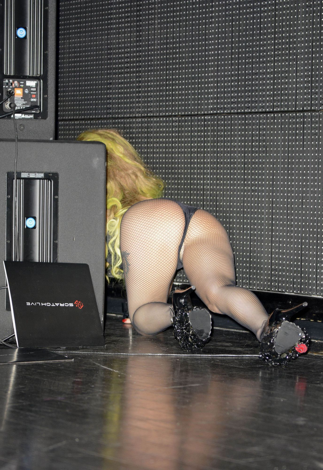 The Lady Gagabeyonce Telephone Photo Hits The Web