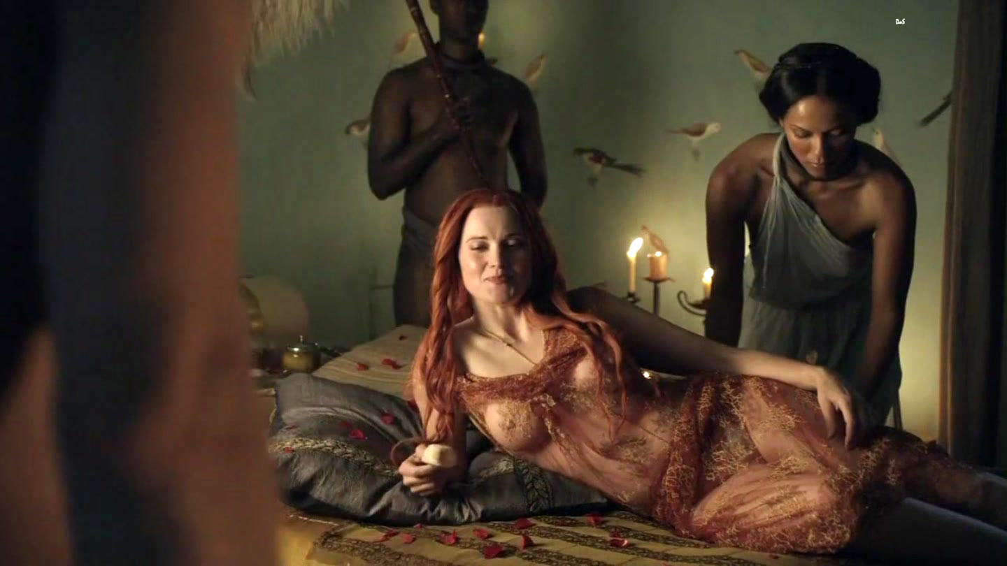 Lucy lawless nude in spartacus