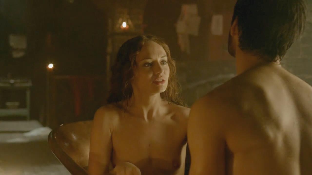 Laura haddock nude tits in da vinci's demons